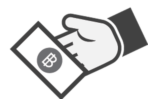Hand with Money Icon - 4 | Clipart