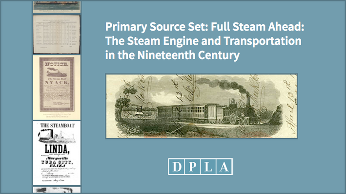Full Steam Ahead: The Steam Engine and Transportation in the Nineteenth Century