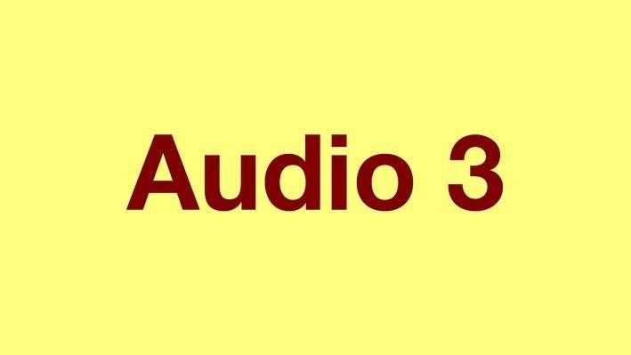 Present Tense Verbs | Pronunciation Audio
