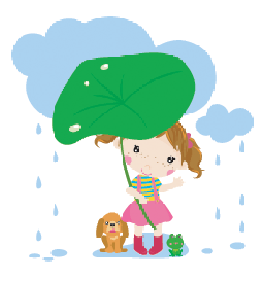 Cartoon Little Girl | Clipart