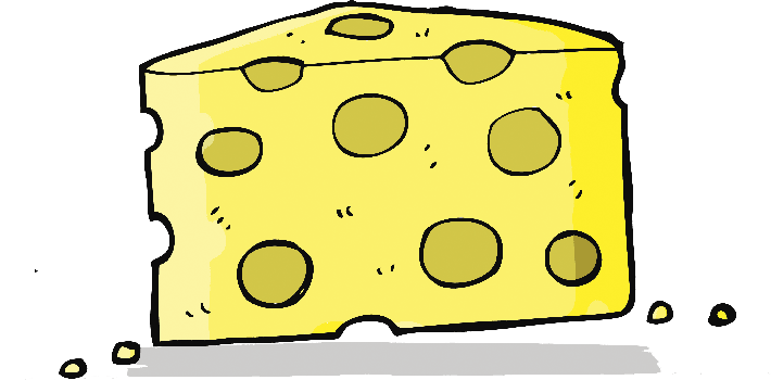 Cartoon Cheese | Clipart
