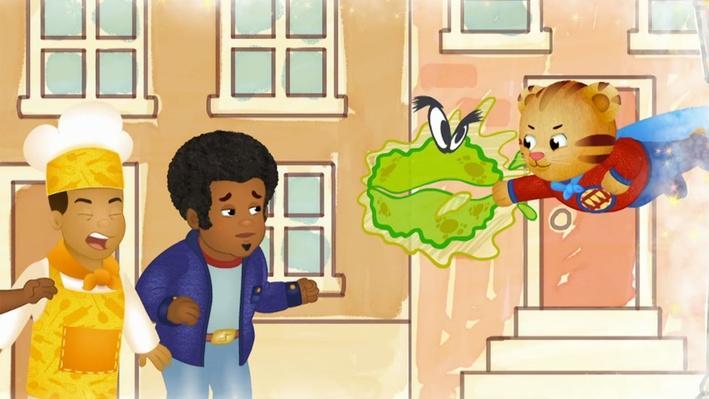 A Germ-Fighting Superhero | Daniel Tiger's Neighborhood