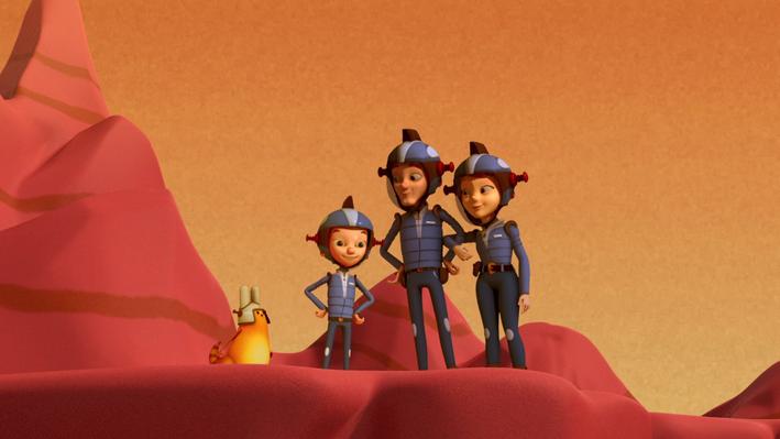 A Mars Desert and an Earth Desert | Ready Jet Go!
