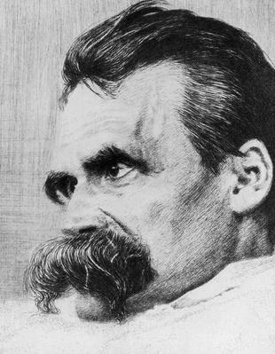 Portrait of Friedrich Nietzsche | Famous Philosophers
