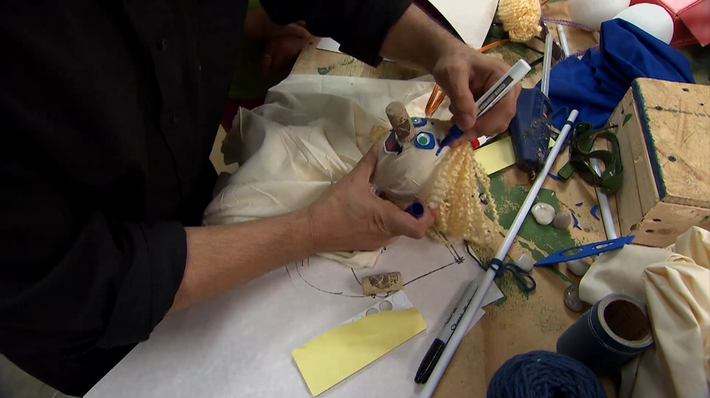 ArtQuest: Making a Marionette with Brian Hull