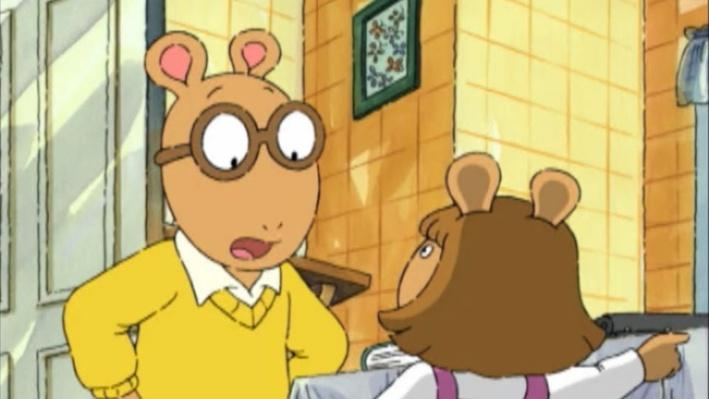Arthur: All Worked Up | Same, Great Mom