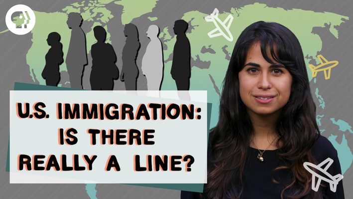 "Is There Really an Immigration ""Line"" to Wait In? 
