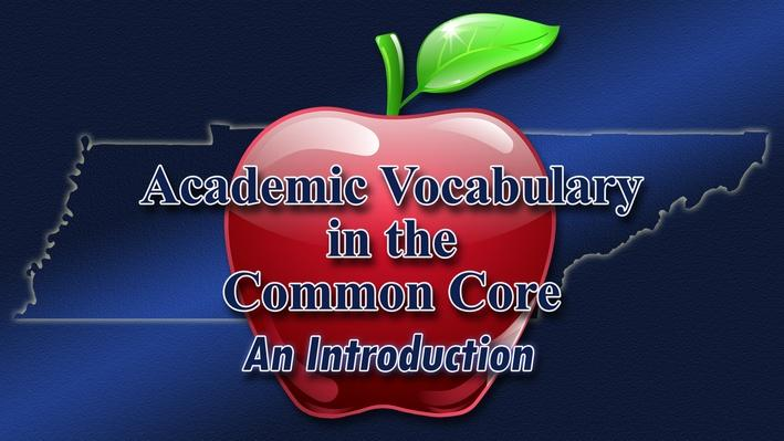 Part 1-Three Tiers of Vocabulary