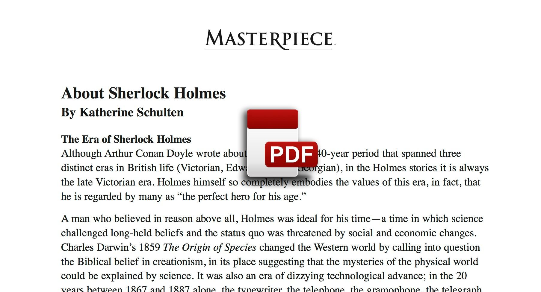 [PDF] Download Sherlock Holmes Novelas Sherlock Holmes