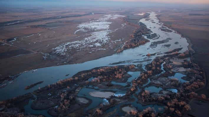 Platte Basin Timelapse 3: Aerial View of Central Platte Basin