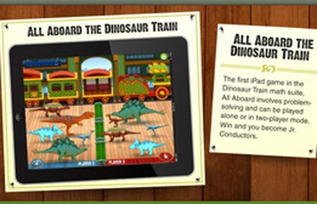 All Aboard the Dinosaur Train - Dinosaur Train | PBS KIDS Lab