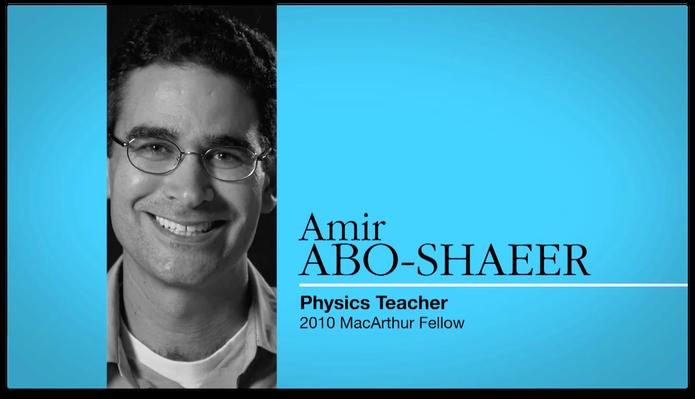 Amir Abo-Shaeer, Educator | MacArthur Fellows Program