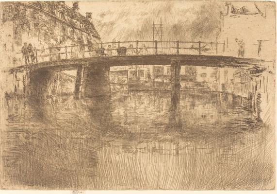 Bridge: Amsterdam, 1889 | James McNeill Whistler