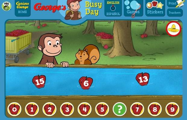 Resultat d'imatges de curious george apples