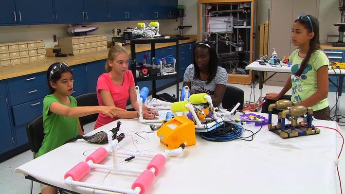 SciGirls | Aquabots 02: Research and Brainstorm