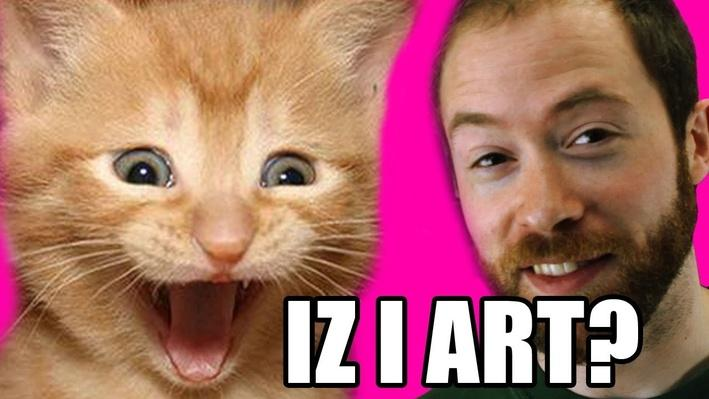 Are LOLCats and Internet Memes Art? | PBS Idea Channel
