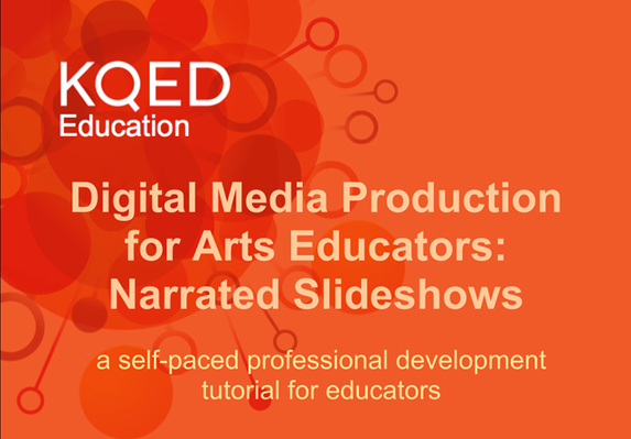 Narrated Slideshows for Arts Education