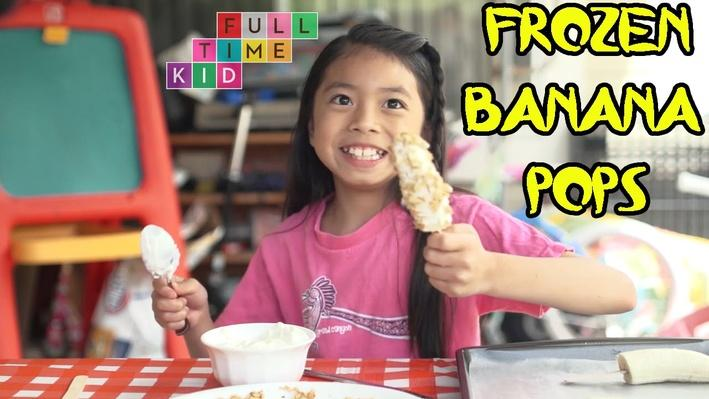Frozen Banana Pops | Full-Time Kid