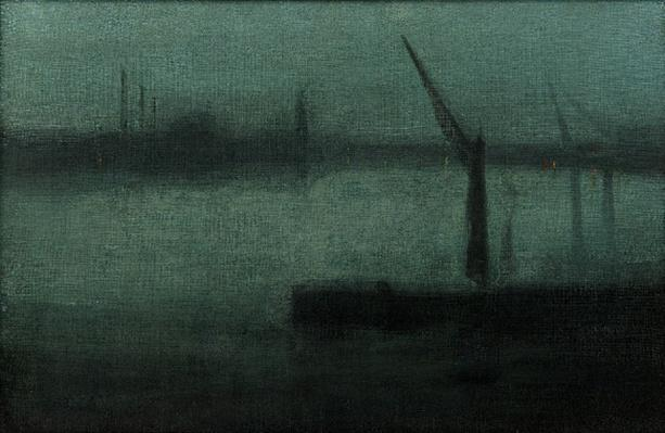 Nocturne: Blue and Silver—Battersea Reach | James McNeill Whistler & The Case for Beauty