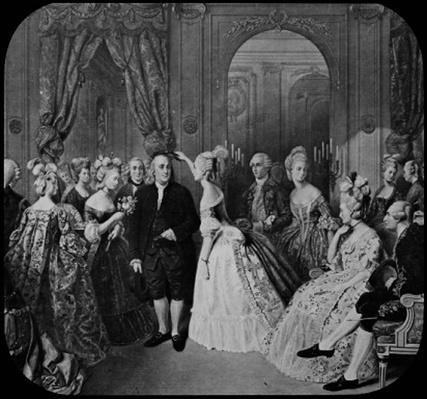 Benjamin Franklin at the Court of France