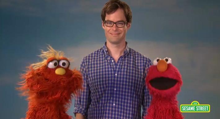 Bill Hader: Grouchy | Sesame Street