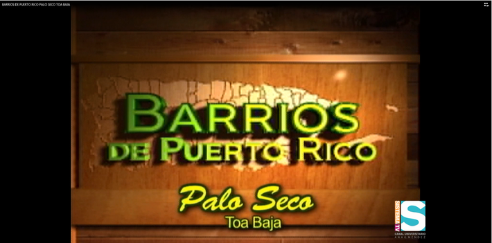 Barrios de Puerto Rico: Barrio Palo Seco de Toa Baja