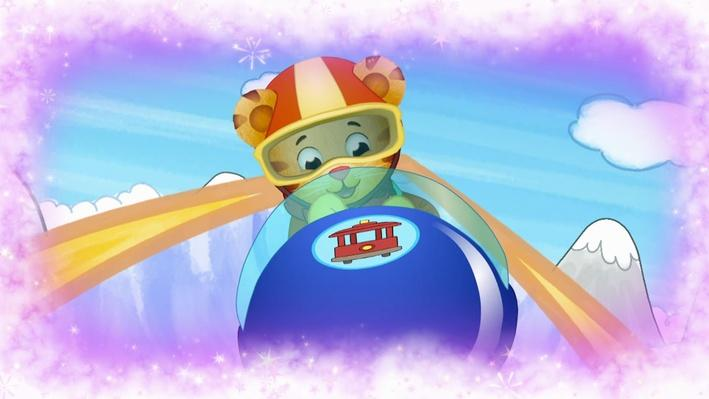 Bobsledder Daniel | Daniel Tiger's Neighborhood