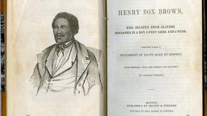 """Narrative of the Life of Henry """"Box"""" Brown"""