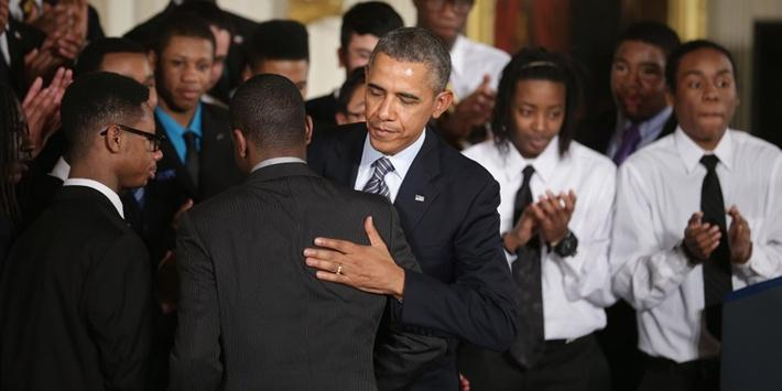 Obama Gets Personal in Effort to Help Young Men of Color Video