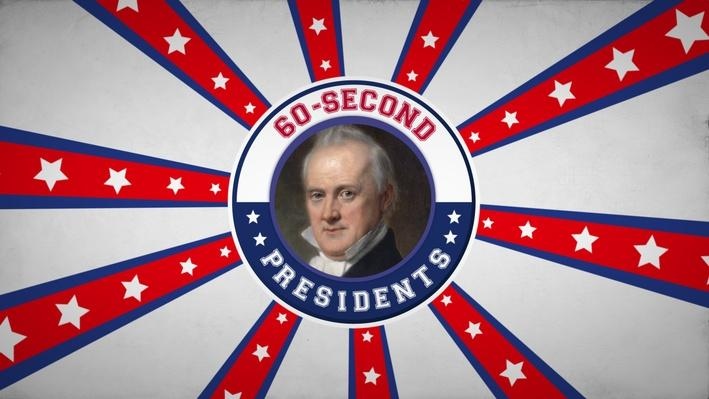 James Buchanan | 60-Second Presidents