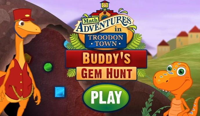 Buddy's Gem Hunt - Dinosaur Train | PBS KIDS Lab