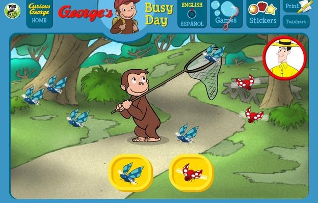 Bug Catcher - Curious George | PBS KIDS Lab