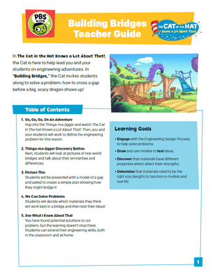 Teacher's Guide: Building Bridges | The Cat in the Hat Knows a Lot About That!