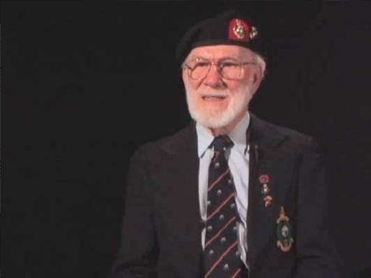 Burt Richard Sadler - Marine Stoker, British Royal Marines