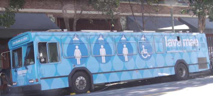 Engineering is Converting Buses to Showers for the Homeless