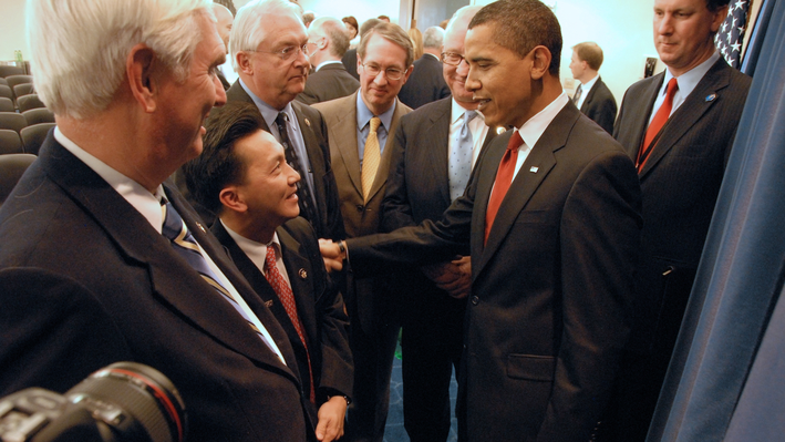 Mr. Cao Goes to Washington: Partisan and Racial Differences