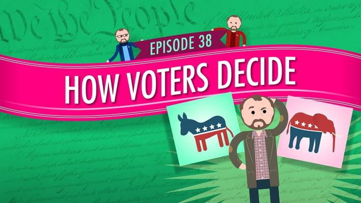 How Voters Decide | Crash Course Government and Politics