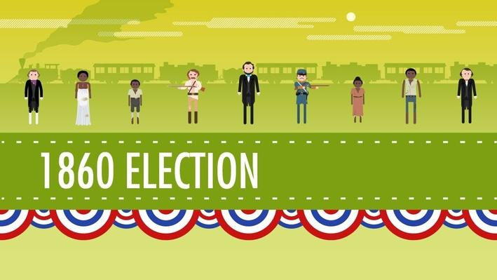 The Election of 1860 and the Road to Disunion | Crash Course US History #18