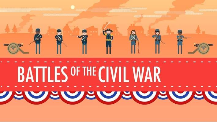 Battles of the Civil War | Crash Course US History #19