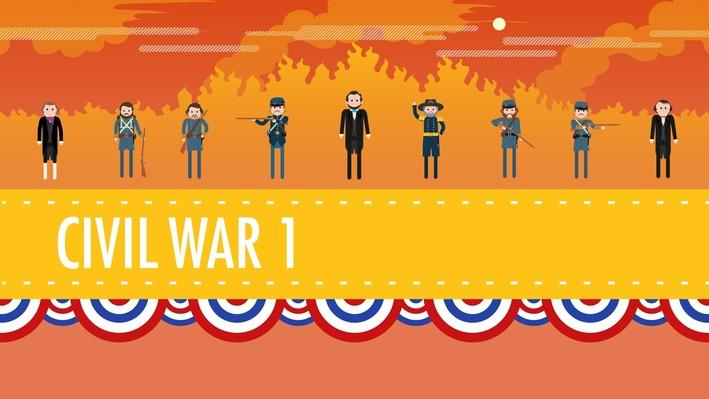 The Civil War Part 1 | Crash Course US History #20