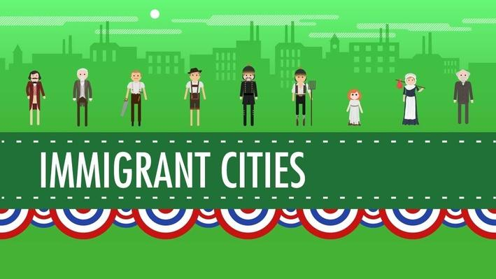 Growth, Cities, and Immigration | Crash Course US History #25