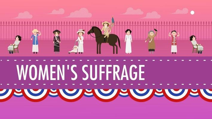 Womens Suffrage | Crash Course US History #31
