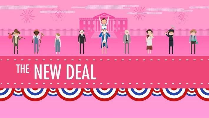 The New Deal | Crash Course US History #34