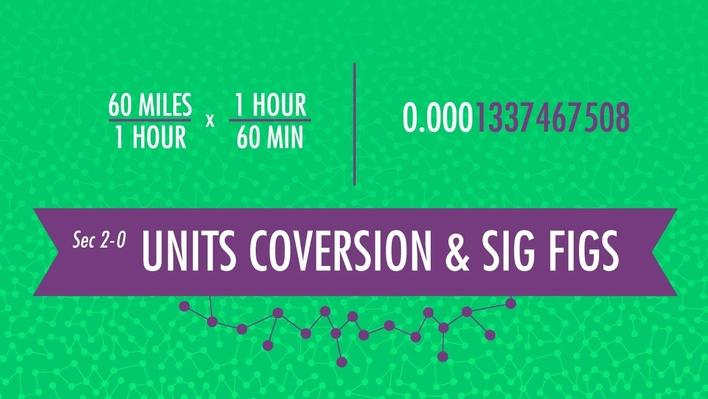 Unit Conversion & Significant Figures | Crash Course Chemistry