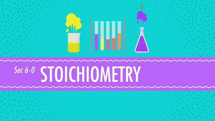 Stoichiometry: Chemistry for Massive Creatures | Crash Course Chemistry