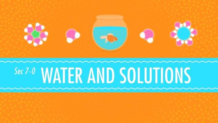 Water and Solutions: for Dirty Laundry | Crash Course Chemistry