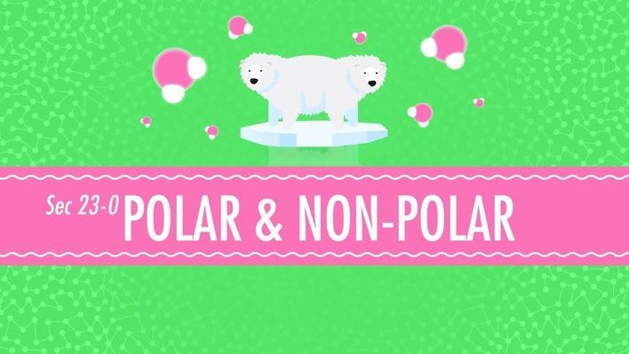 Polar & Non-Polar Molecules | Crash Course Chemistry