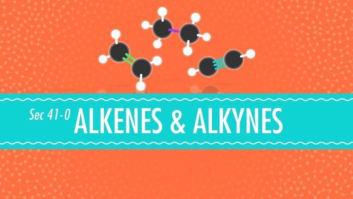 Alkenes & Alkynes | Crash Course Chemistry