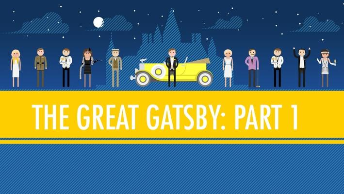 The Great Gatsby Part 1 | Crash Course English Literature #104