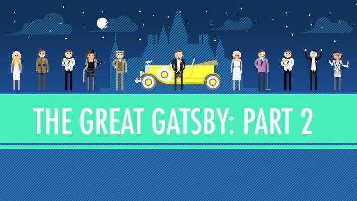The Great Gatsby Part 2 | Crash Course English Literature #105